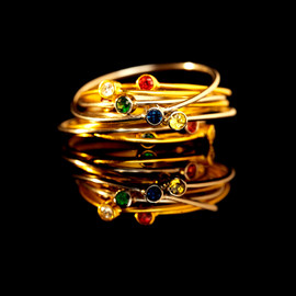 artemer - Thin Stacking Ring