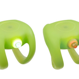 KNOG - 1LED LIGHT LIME GREEN