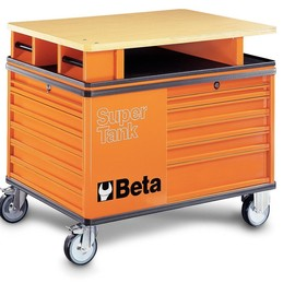 Beta - C28N SuperTank trolley with eleven drawers