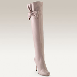 VALENTINO - Bow Topped Over The Knee Boot