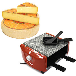SWISS MILITARY - Raclette Grill for 4 people