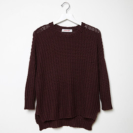 ORGANIC BY JOHN PATRICK - Chain Stitch Knit