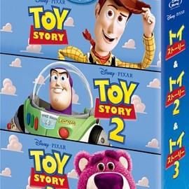 John Lasseter - toy story blu-ray trilogy set