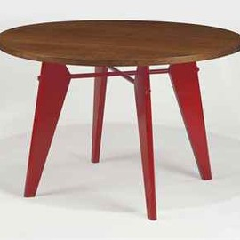Jean Prouve - Cafetaria Round Table, ca 1950