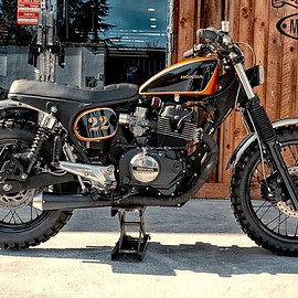 "Moto Design Customs - Honda CB400N tracker ""Motodesigned"""
