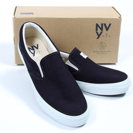 Vans x NVy by F.A.T x Beauty & Youth - Vans x NVy by F.A.T x Beauty & Youth Slip-On Sneaker
