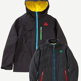 CHUMS - 3-IN -1Jacket