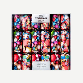 THE CONRAN SHOP - PARTY PRINT CRACKERS XMAS11