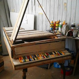** the wooden piano forte **