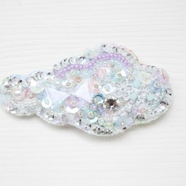 suumi - cloud hair pin - rainy