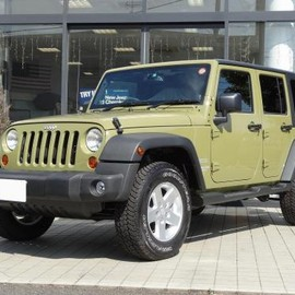 Jeep - Wrangler Unlimited sports コマンドグリーン