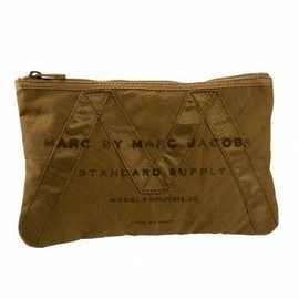 MARC BY MARC JACOBS - New Standard Issue Zip Pouch【Dark Khaki】