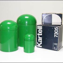Kartell - Domed Containers by Anna Castelli Ferrieri