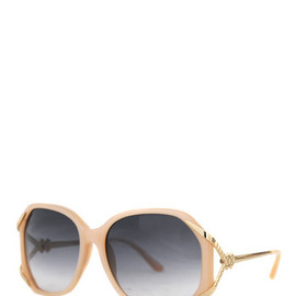 LINDA FARROW - Milky Peach Sunglasses