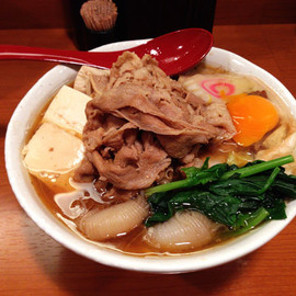 西新宿「肉肉ラーメン」 - THE SUKIYAKI JAPANESE SPRIT