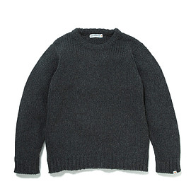 HEAD PORTER PLUS - PAINT KNIT GREY