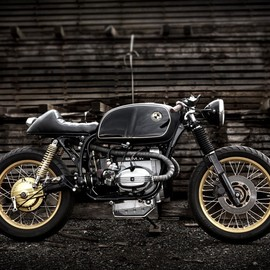 Foundry Motorcycle - BMW R80 Black Racer