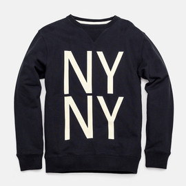 Saturdays Surf NYC - Bowery NY NY Crew Neck Sweatshirt