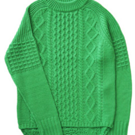bal - Duck Tale Allan Crew Sweater (green)