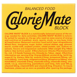Calorie Mate カロリーメイトブロック チョコレート味