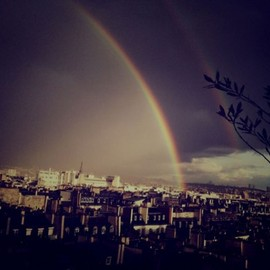 over the rainbow in Paris