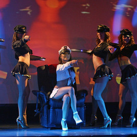 Las Vegas - 'X Burlesque' show at the Flamingo Las Vegas