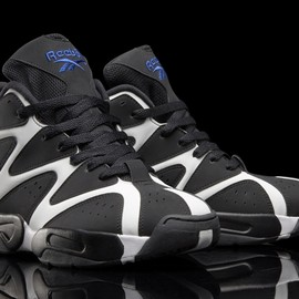 Reebok - Kamikaze 1 - Black/White/Blue