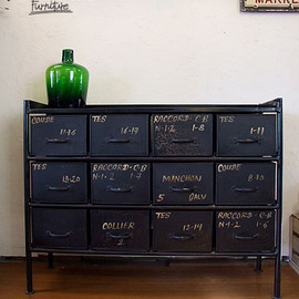 journal standard Furniture - GUIDEL 12 DRAWER CHEST