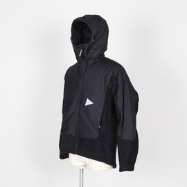 and wander - Twill Fleece Jacket