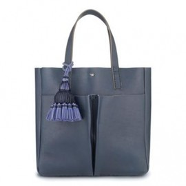 ANYA HINDMARCH - GEORGIANA NEVIS SMALL NAVY