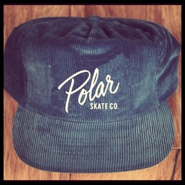 Polar Skate Co. - 5panel corduroy snapbacks with embroideried logo