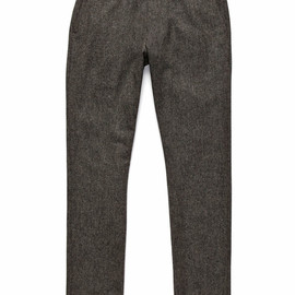 Todd Snyder - Tweed Flat Front Trouser