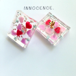 innocence. - ♡fancy dessertピアス♥