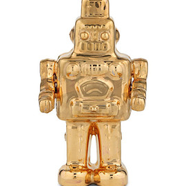 SELETTI - Goldies gold-toned robot