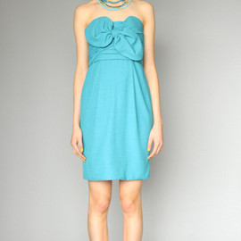 KAREN WALKER - Knot Bodice Dress