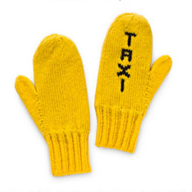 kate spade NEW YORK - Taxi Mittens