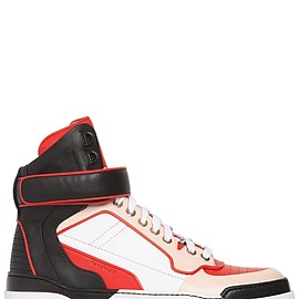 GIVENCHY - FW2015 TYSON LEATHER HIGH TOP SNEAKERS
