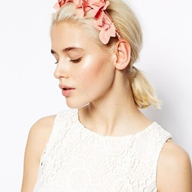 ASOS - :ASOS Orchid Occasion Hairband at ASOS