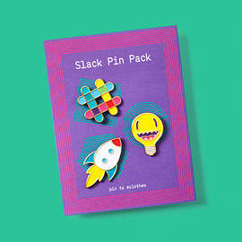 Slack - Pack of Perfect Pins