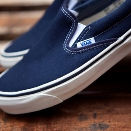 VANS - SLIPON NAVY