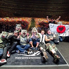 MAN WITH A MISSION, ZebraHead - Out of Control JAPAN Tour 2015