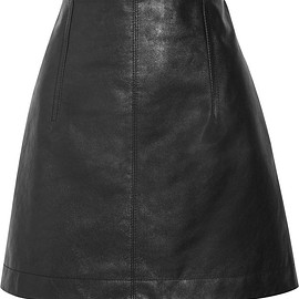 Chloé - Leather mini skirt