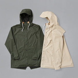 STUSSY Livin' GS Rain - GS Hooded Rain Jacket by Rains