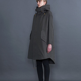THE RERACS - RERACS LONG MODS COAT WITH LINER