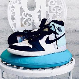 NIKE - NIKE AIR JORDAN 1 RETRO HIGH OG NRG WHITE/IGLOO-BLACK