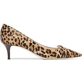 Jimmy Choo - Allure leopard-print calf hair pumps