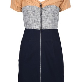 CARVEN - 'Gabardine' stretch dress