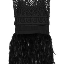 sass & bide - feather dress