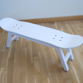 Skate-Home - Bench Skateboard Furniture