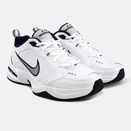 NIKE - AIR MONARCH IV WHITE SILVER